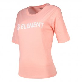 Tee Shirt Femme ELEMENT Logo CR Peach
