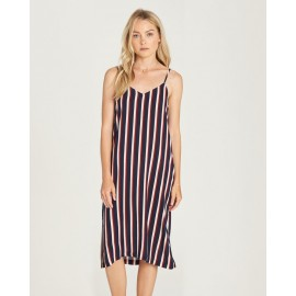 ELEMENT Bobby Indigo Stripe Dress