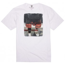 Tee Shirt Homme VISSLA Hand Made White