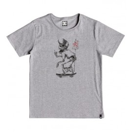 Tee Shirt DC Junior Deadshred Grey Heather