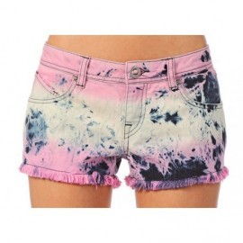 Short Volcom Hight Voltage Embellished Multicolor
