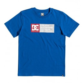 Tee Shirt DC Junior Vertical Zone Nautical Blue