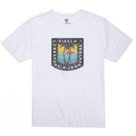 Men's T-Shirt VISSLA Afternoon White