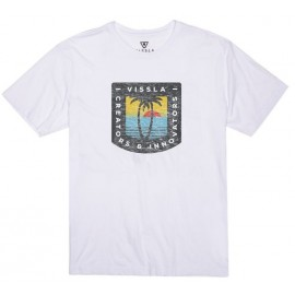 Men's T-Shirt VISSLA Afternoon White