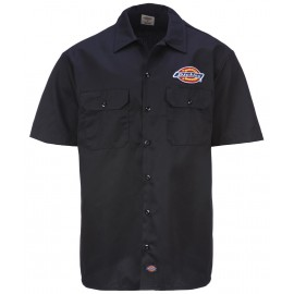 Dickies Clintondale Work Shirt Black