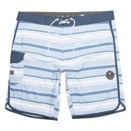 """Boardshort VISSLA Tiger Tracks 20 """"Cool Blue"""