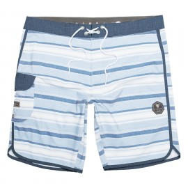 "Boardshort VISSLA Tiger Tracks 20""Cool Blue"