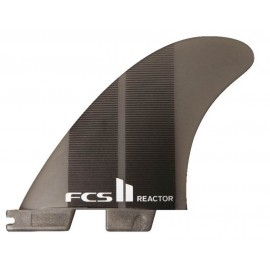 FCSII Reactor Neo Glass Medium Tri Fins Charcoal Gradient