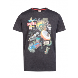 PROTEST Junior Tee Shirt Cley JR True Black