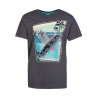 PROTEST Junior Tee Shirt Elias Jr Deep Gray