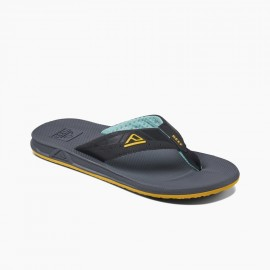 Men's REEF Tong Phantoms Aqua Yellow