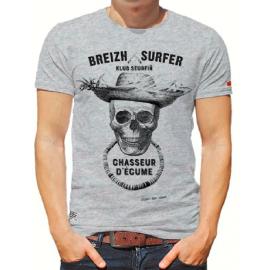 STERED Breizh Surfer Chiné Tee Shirt