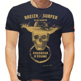 Tee Shirt STERED Breizh Surfer Marin