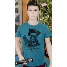 Tee Shirt Enfant Stered Malouin Lagon
