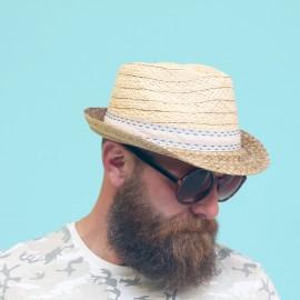 HERMAN Don Reno Blue Mixed Hat