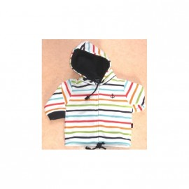 Sweat KIDS Escale Nautic TOULON Rayé Multicolor