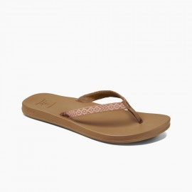 Tong Femme REEF Cushion Bounce Woven Natural