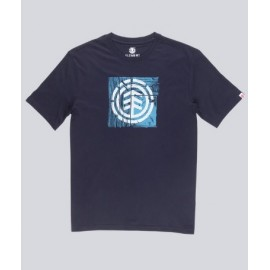 ELEMENT Driftwood Eclipse Navy Junior Tee Shirt