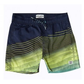 Short de bain Junior BILLABONG Resistance LB Jaune