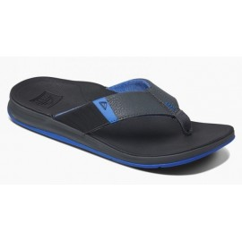 Men's REEF Tongue Ortho Bounce Sport Black Blue