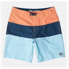 Junior BILLABONG Tribong Pro Solid Orange Boardshort