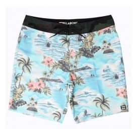 Boardshort Homme BILLABONG Sundays Airlite Mint