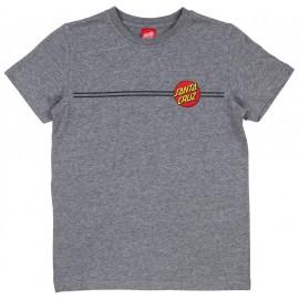 Tee Shirt Enfant Santa Cruz Classic Dot Dark Heather