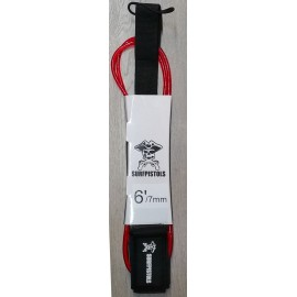 Leash Surf Pistols 6' Red