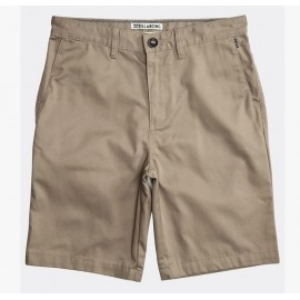 Junior Bermuda BILLABONG Carter Light Khaki