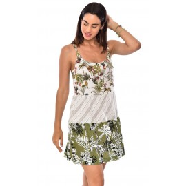 Dress BANANA MOON Morana Patchy Ecru