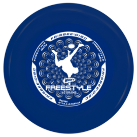 Frisbee Disc Freestyle bleu 160gr