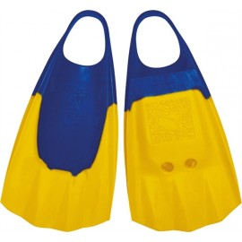 Wave Gripper Bodyboard fins Blue Yellow