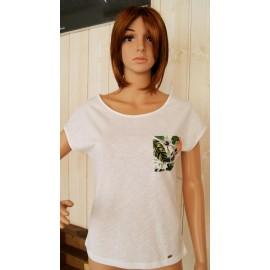 BANANA MOON Peterson White Women's Tee Shirt