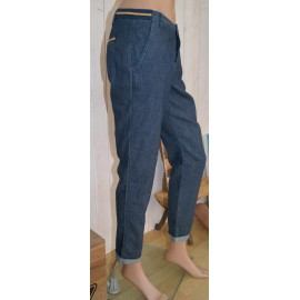 Pantalon Femme BANANA MOON Nestor Agree Bleu