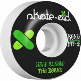 Bones STF Skateboard Wheels Collabo Skate Aid 53mm 103A V1 Standart