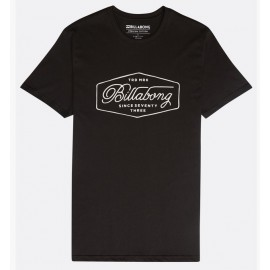 BILLABONG Men's T-Shirt Trademark Navy