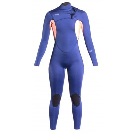 Xcel Women Wetsuit Comp X2 3/2mm Cascade Blue Grapefruit