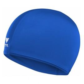 Bonnet De Bain En Tissu Lycra TYR Bleu Royal