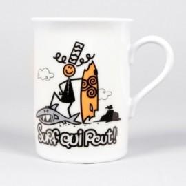 Box Mug A L'Aise Breizh Humorous Surf