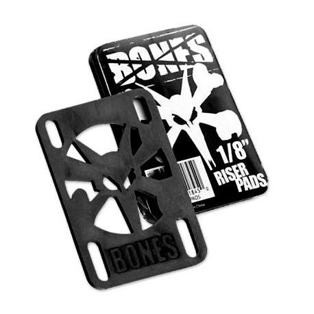 Set of 2 Riser Pads Bones 0.125 Pouce