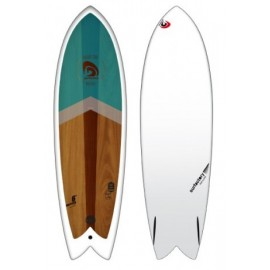 Retro Fish Surfactory 6'0 Wood