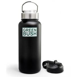 Bouteille Isotherme Greenbush Large Noir