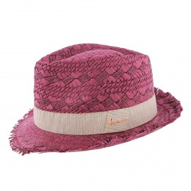 Mixed Hat HERMAN Don Drago Raspberry
