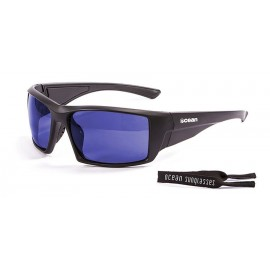 Ocean Aruba Floating Sunglasses Mat Black Blue