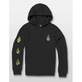VOLCOM Junior Sweatshirt Deadly Stones Black