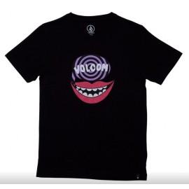 Tee shirt Junior VOLCOM Say Black