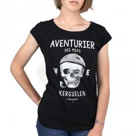 Tee Shirt Femme STERED Aventurier Des Mers Noir