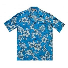 Chemise Aloha Republic Hibiscus Blue