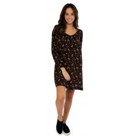 Robe Banana Moon Amylee Kimross Noir