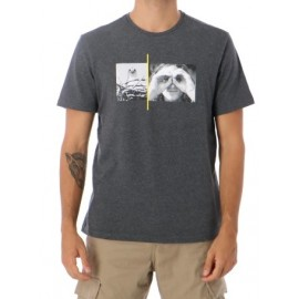 Tee Shirt Homme ELEMENT Hawk Smith Charcoal Heather